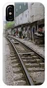 Hanoi Train Tracks IPhone Case