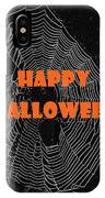 Happy Halloween Web  IPhone Case
