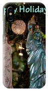 Happy Holidays To All My Friends On Fine Art America IPhone Case