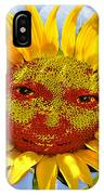 Happy Sunflower IPhone Case
