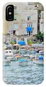 Harbor At Isle Of Capri IPhone Case