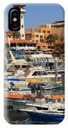 Harbor Waterfront In Cabo San Lucas IPhone Case