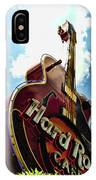 Hard Rock Guitar IPhone Case
