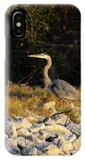 Hard Rock Heron IPhone Case