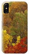 Hardwood Forest With Maple And Oak IPhone Case