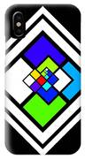 Harlequin Tile IPhone Case
