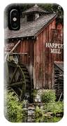 Harpers Mill IPhone Case