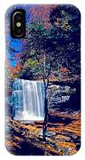 Harrison Wright Falls In Fall IPhone Case