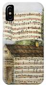 Harrisons Log Cabin March IPhone Case