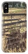 Harvester Sweep Wheel 1 IPhone Case