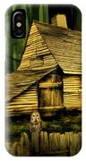 Haunted Shack IPhone Case