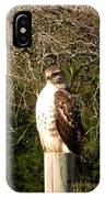 Hawk Post IPhone Case