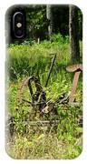 Hay Cutter 4 IPhone Case