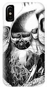 Heart Anatomy, Carl Von Rokitansky, 1875 IPhone Case