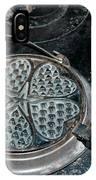 Heart Waffle Iron IPhone Case