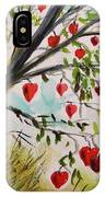 Hearts Grow On Trees IPhone Case