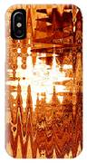 Heat Wave - Abstract Art IPhone Case