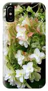 Heavenly Hydrangea IPhone Case