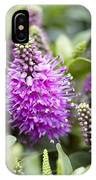 Hebe Dona Diana Flowers IPhone Case