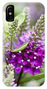 Hebe Hebe Sp Dona Diana Variety Flowers IPhone Case