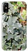 Helix Glacier Ivy IPhone Case
