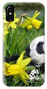 Hello Spring. Ginny From Travelling Pandas Series. IPhone Case