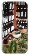 Herbal Pharmacy IPhone Case