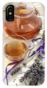 Herbal Tea And Lavender IPhone Case