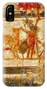 Herculaneum Wall Painting IPhone Case