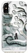 Hercules Of The Union, 1861 IPhone Case