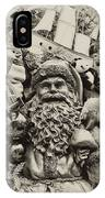 Here Comes Santa Claus IPhone Case