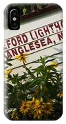 Hereford Lighthouse Lifeboat IPhone Case