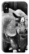 Heres Lookin At You  Kid Indian Rhino  IPhone Case