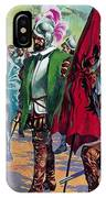 Hernando Cortes Arriving In Mexico In 1519 IPhone Case