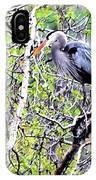 Heron Alone IPhone Case