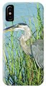 Heron Rockefeller Wma La IPhone Case