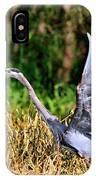Heron Taking To Flight IPhone Case