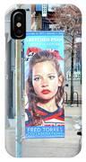 High Line Print 29 IPhone Case