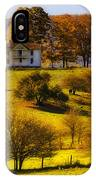 High On A Hill  IPhone Case