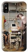 High-pressure Training Research IPhone Case