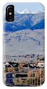 Highway 52 End Of The Line IPhone Case