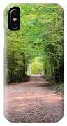 Hiking At Sundown IPhone Case
