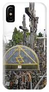 Hill Of Crosses 04. Lithuania IPhone Case