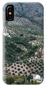 Hills Dales And Vineyards IPhone Case
