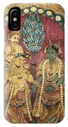 Hindu Wedding Ceremony IPhone Case