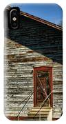 Historic Circa 1800s Railway Station IPhone Case