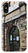 Historic Sydney Hospital - Sandstone Facade IPhone Case