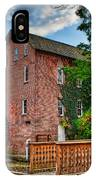 Historic Woods Grist Mill IPhone Case