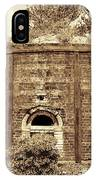 Historical Antique Brick Firing Kiln Decatur Alabama Usa IPhone Case