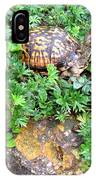 Hitchin A Ride On A Turtle  IPhone Case